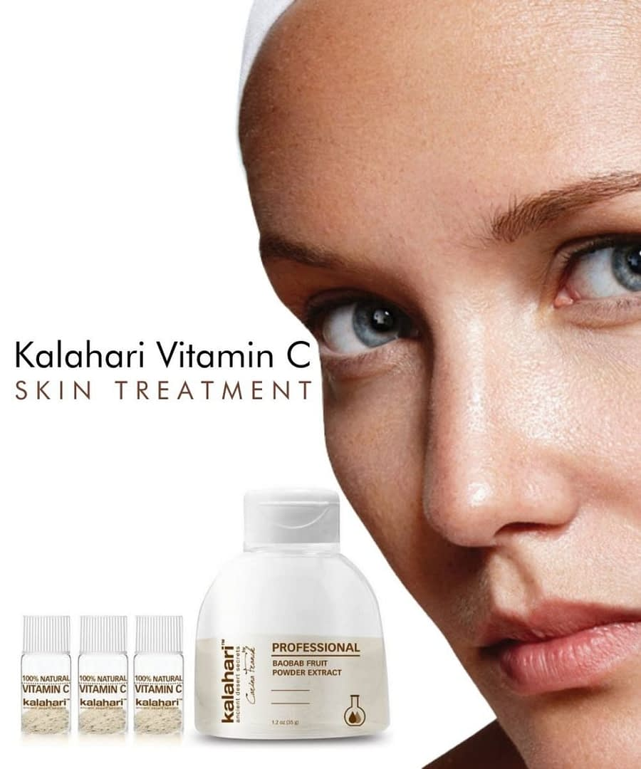 Kalahari Vitamin C Facial, Vitamin C Skin, Vitamin C treatment , cleanse