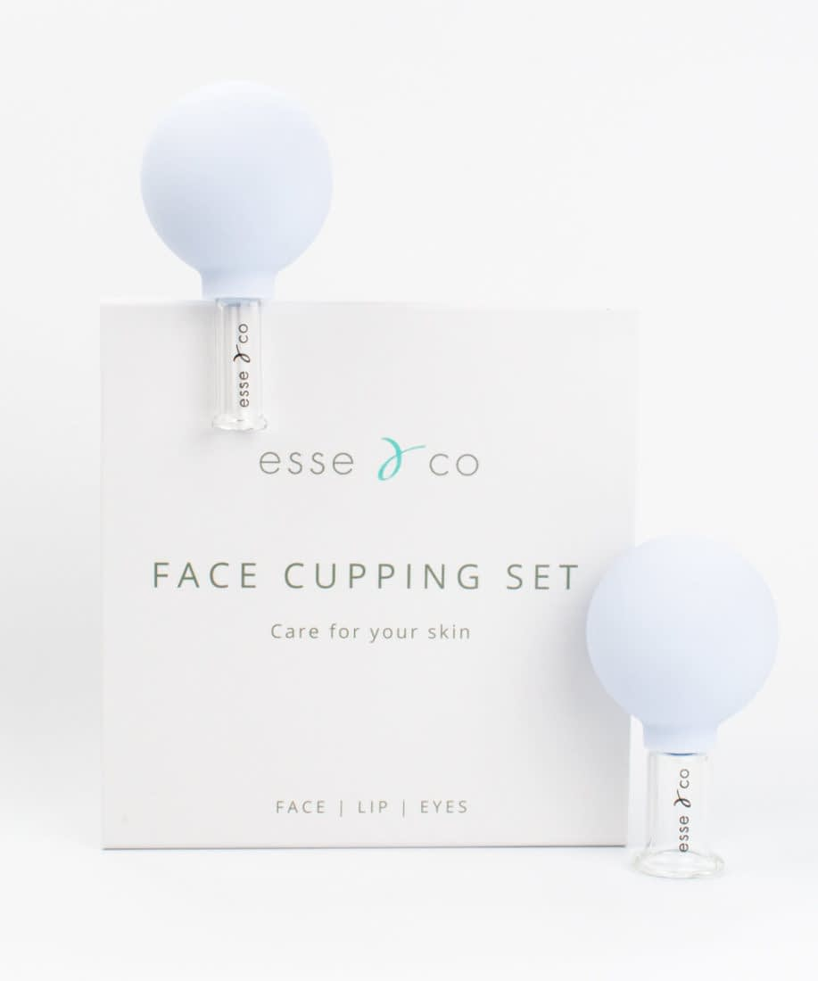 Face cupping therapy set