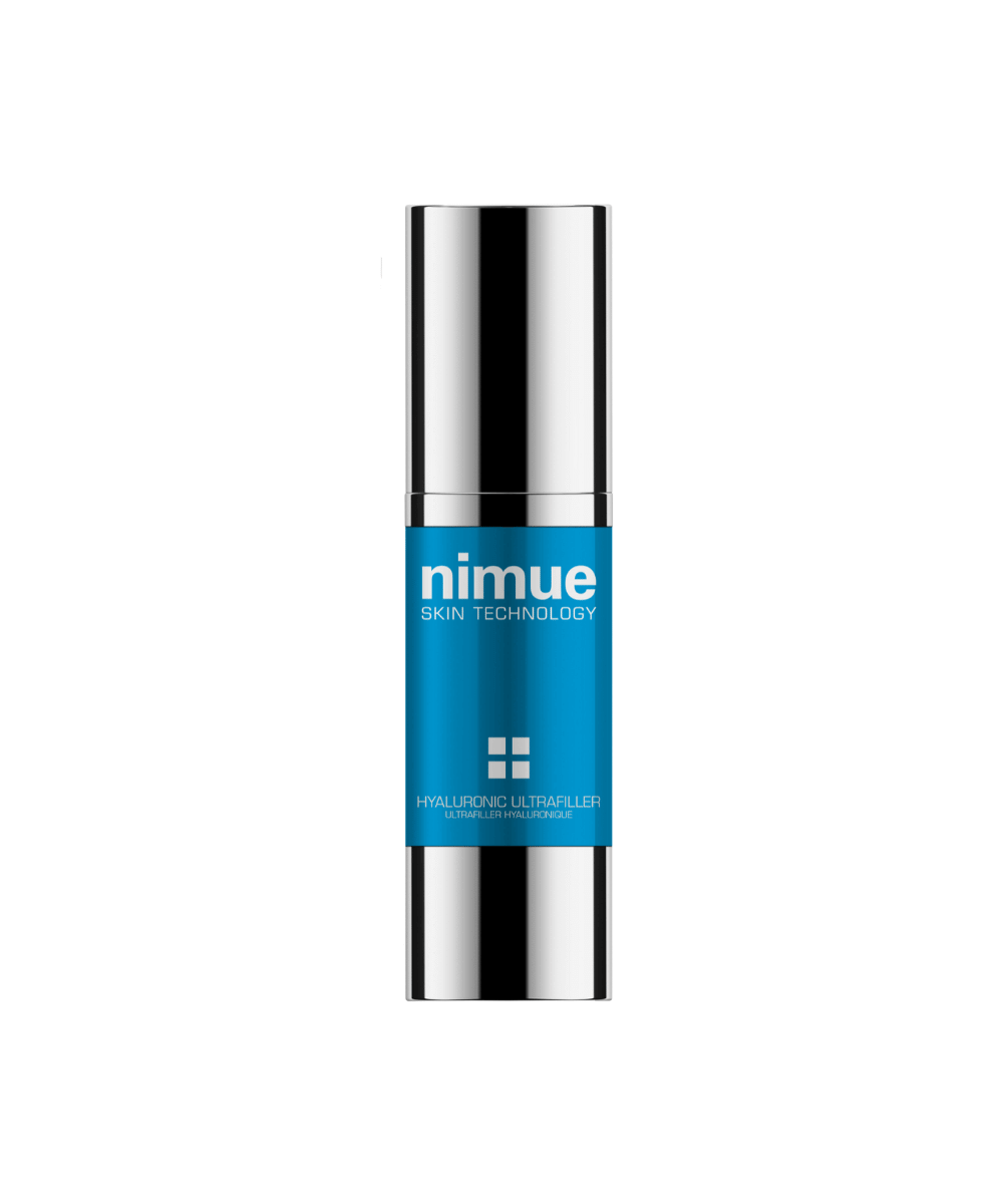 Nimue Skin care Hyaluronic Ultrafiller, Nimue hyaluronic oil A new generation, and first to market.