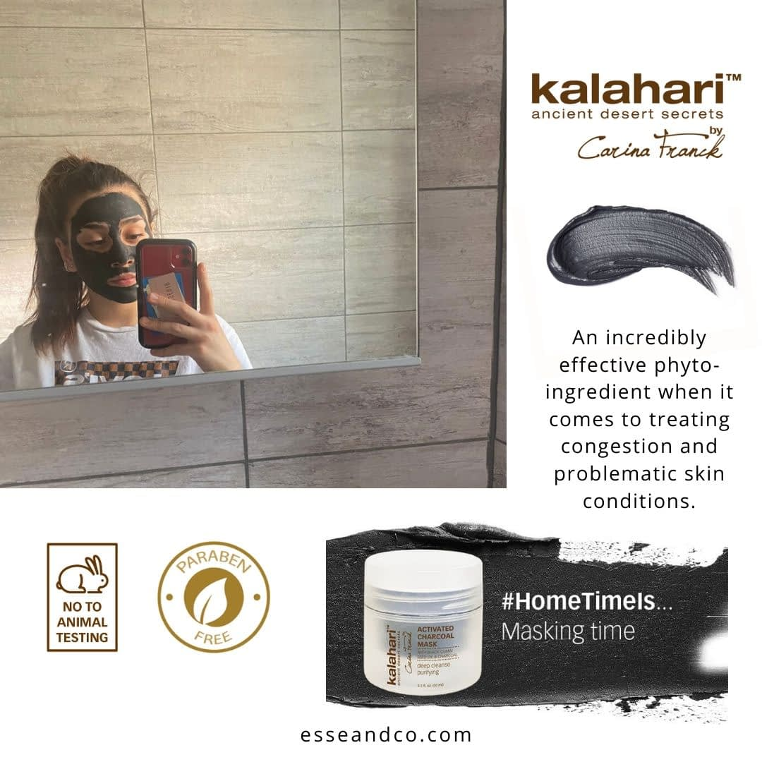 Kallahri Skin care Activated Charcoal mask - Home care