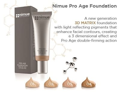Nimue Pro Age Foundation 30ml, double-firming action