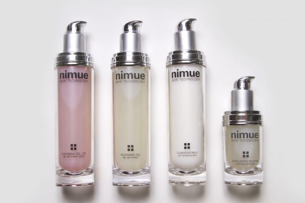 Nimue cleansing products