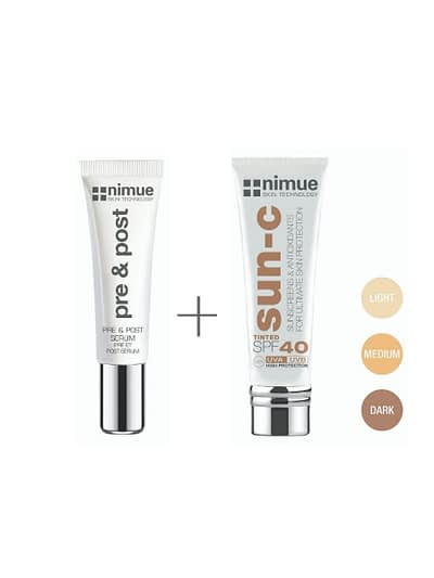 Nimue Skin Technology Nimue Skin Buy Online - Pre psot Cream SPF40 Tinted