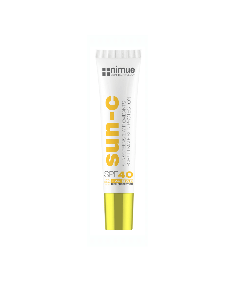 Nimue Sun-C SPF 40 Travel Size- Nimue SPF 40 20ml Sunscreen & Antioxidants for ultimate skin protection